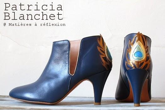 Low boots Patricia Blanchet Gwynette bleu