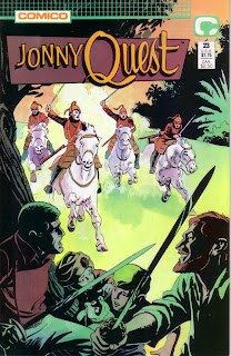 Cover of Johnny Quest #23 from Comico