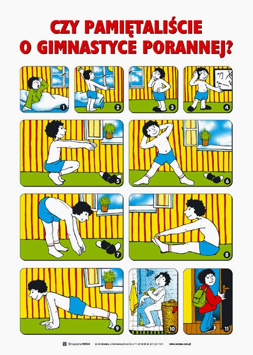 Pamiętaj o gimnastyce porannej