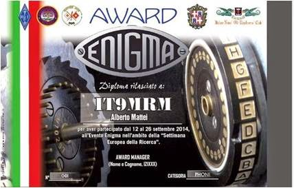 Enigma Event and Award
