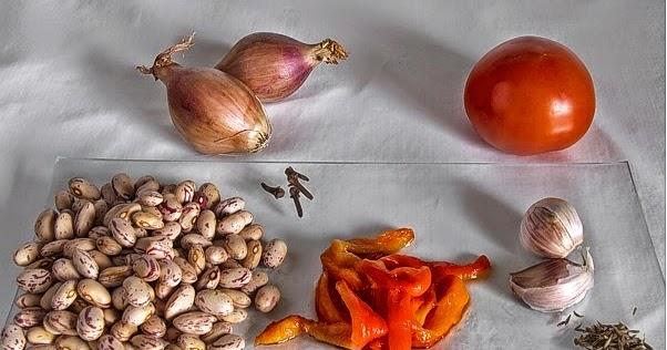 La gastrocinemia alubias pintas con tomate y pimientos asados for Como cocinar alubias pintas