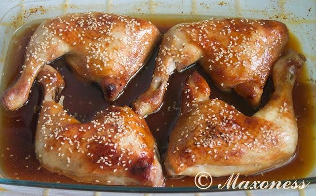 Куриные ножки «Терияки». Японская кухня