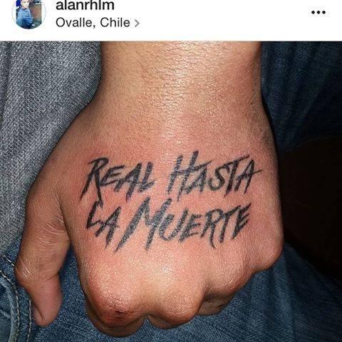 Fan 225 Ticos De Anuel Aa Con Tatuajes De La Frase Real Hasta La Muerte Tumusicaurbana1rd Net