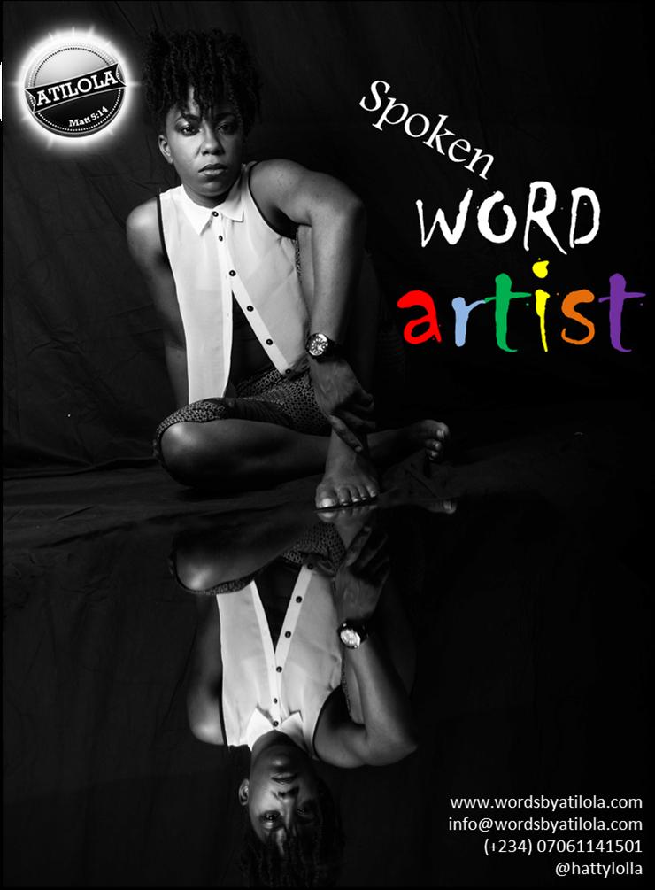 Launching my Spoken Word brand on Blogsville - Atilola's World