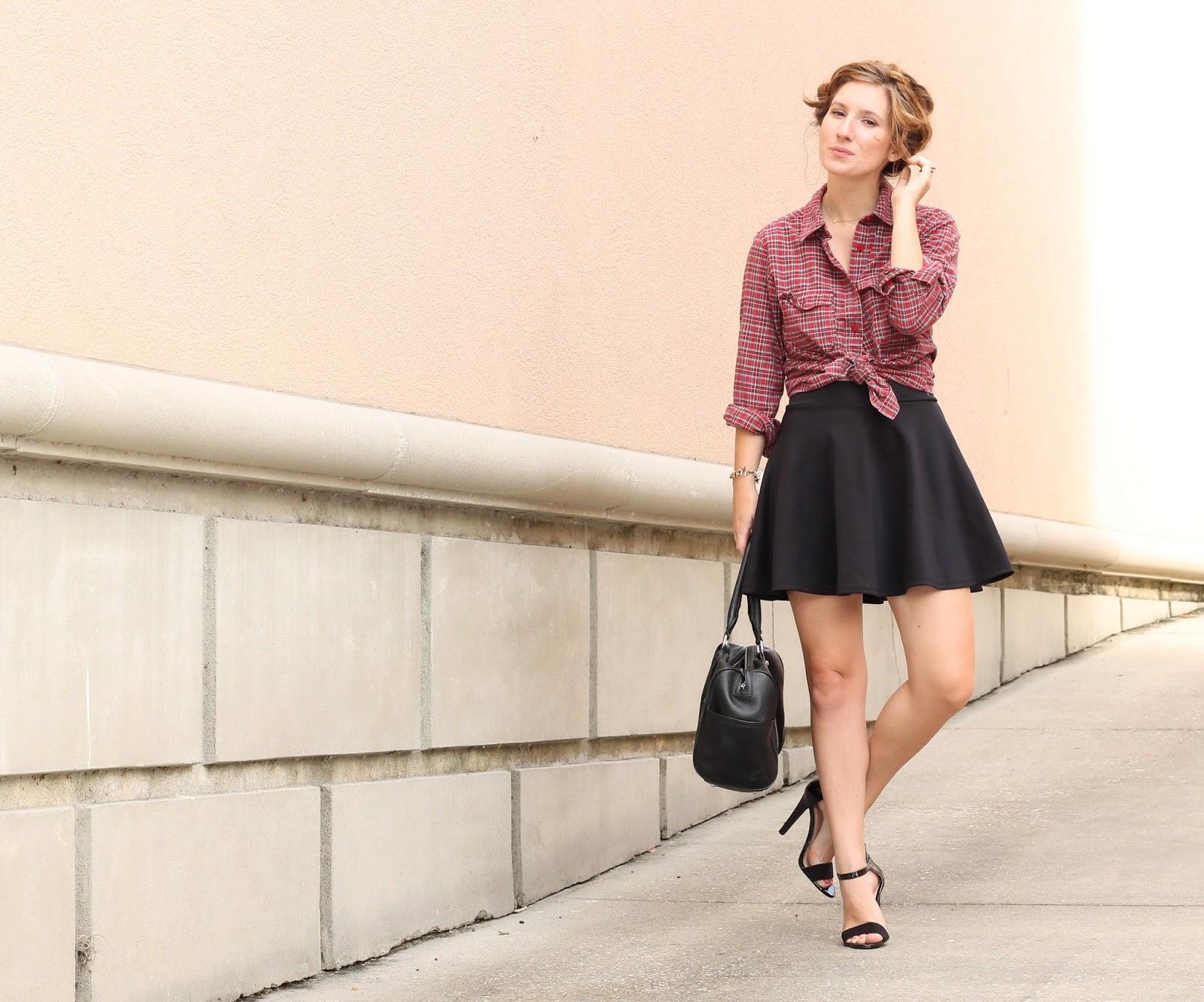 skater skirt style