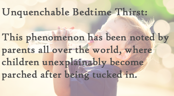 mysterious childhood ailments unquenchable bedtime thirst
