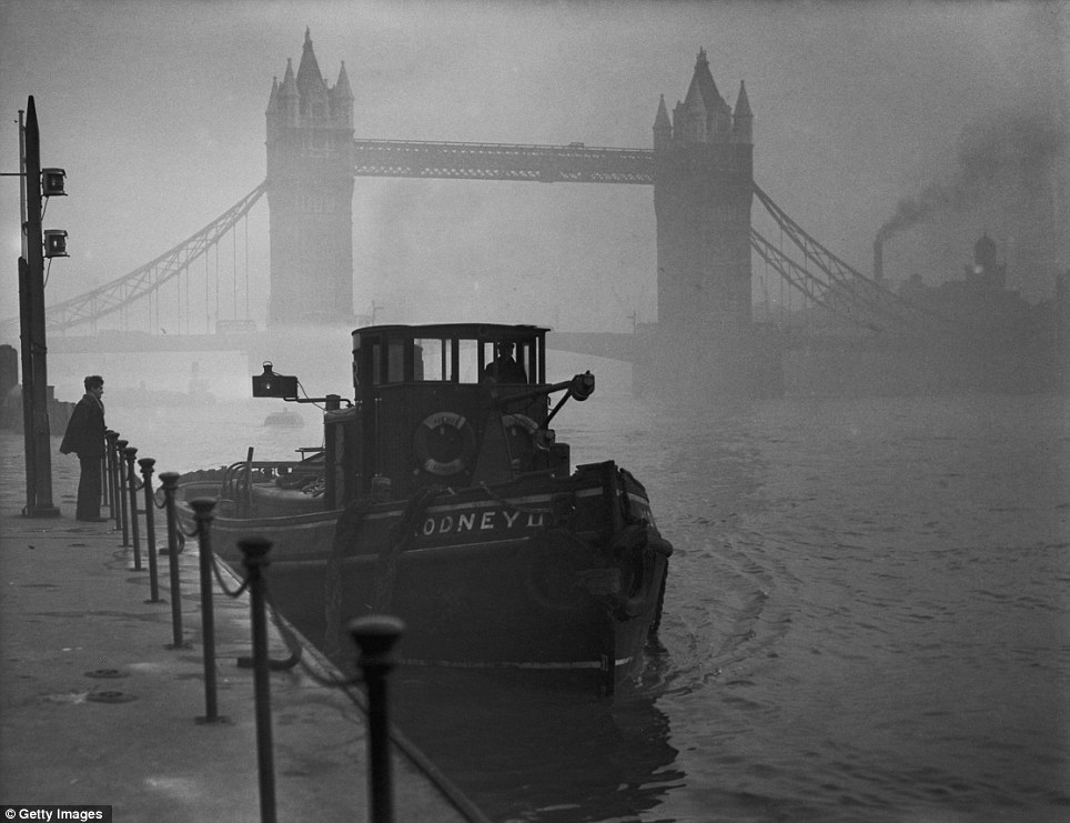 Great Smog Of London 60 Years Ago