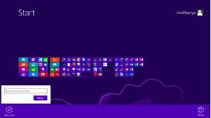Customise the Start screen