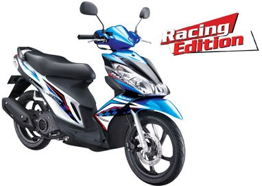 Data Motor Terbaru: Suzuki Skydrive Racing 2011