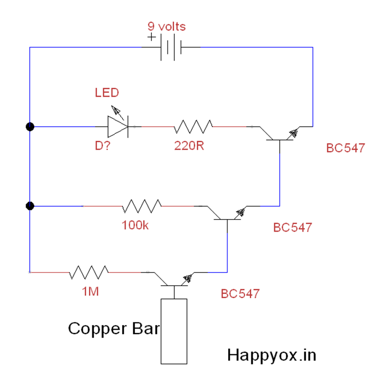 diy electronic projects 2015alternating current(ac) detector