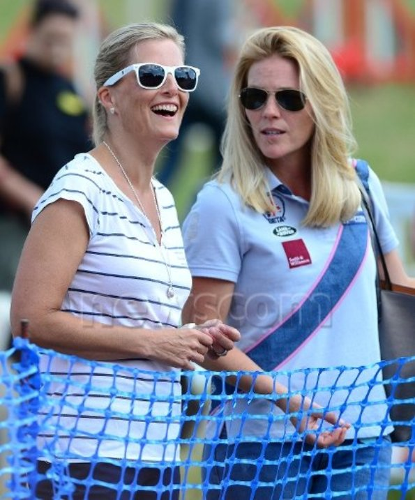 The Countess Of Wessex Attends The Festival Of British Eventing