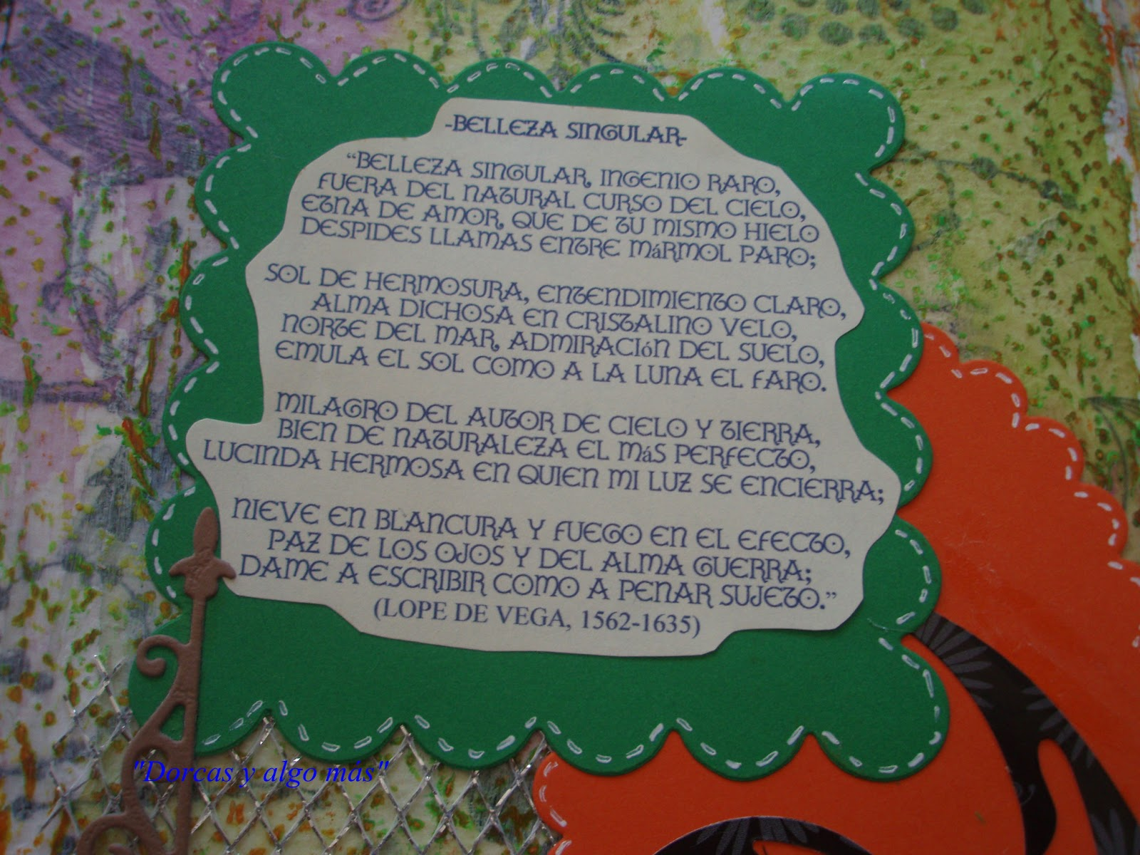 DORCAS Y ALGO MAS\