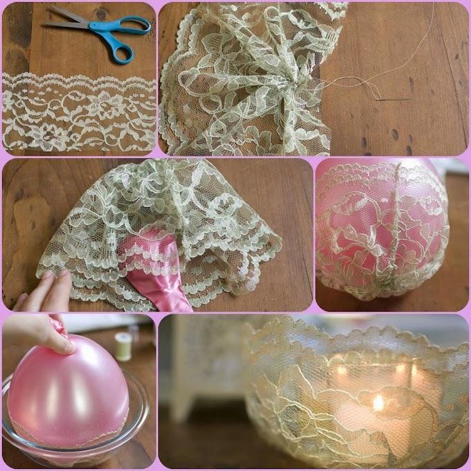 Kendin Yap Mumluk Projeleri :) / Candle Holders :)