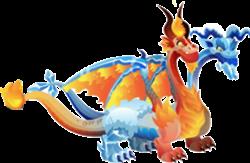 dragon hielo y fuego adulto