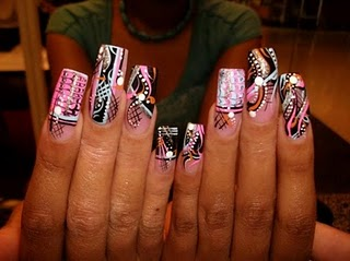 Simple nail design two part nail design best nail designs