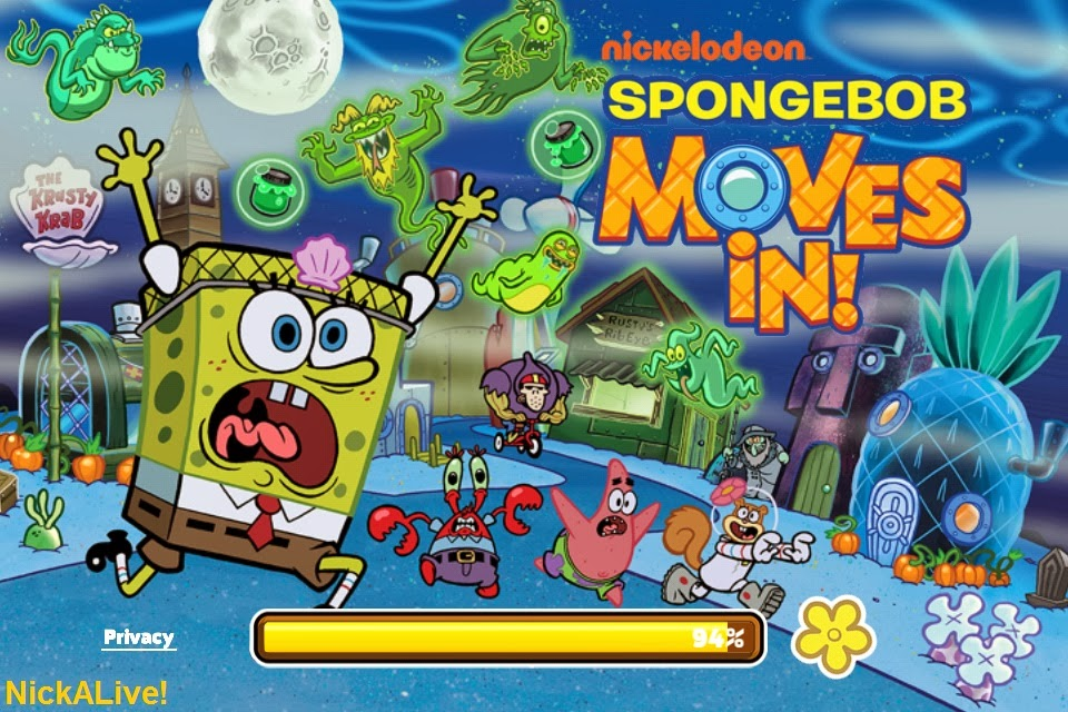 SpongeBob Moves In Gets To The Halloween Spirit With A Brand New Update Featuring Characters Buildings Decorations Recipes And Grisly Game