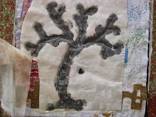 painted tree stencil
