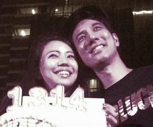Wang Lee Hom & Wife