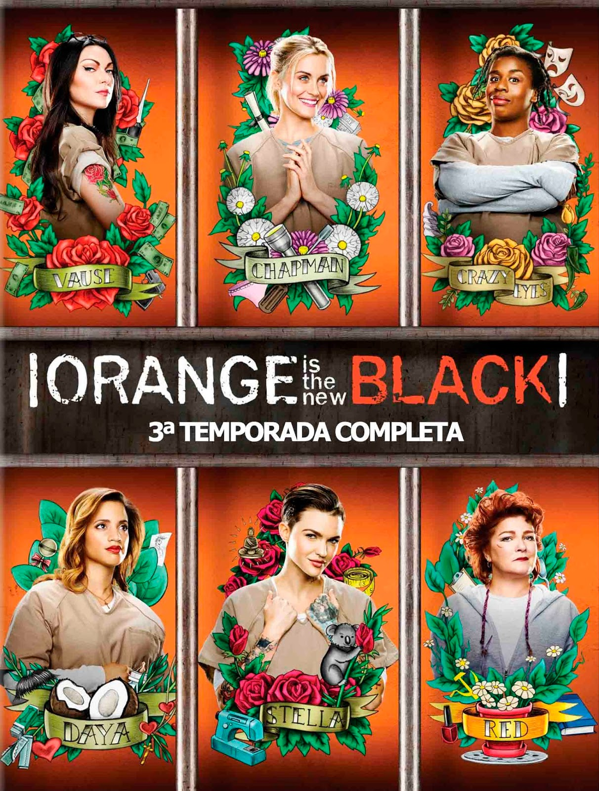 Orange Is The New Black 3ª Temporada Torrent - BluRay 720p Dual Áudio (2015)