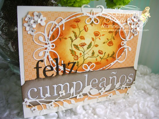 fall happy birthday card side