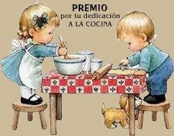 PREMIO: Dedicación a la Cocina