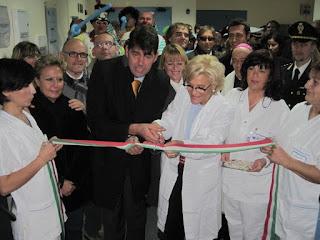 sindaco senigallia, sindaco, barba, barba istituzionale, ospedale senigallia, inaugurazione