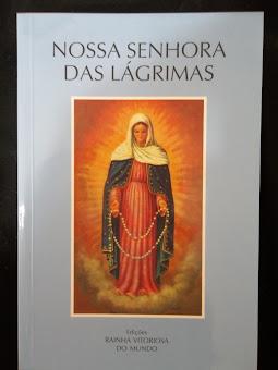 """Livro """"Nossa Senhora das Lágrimas"""""""