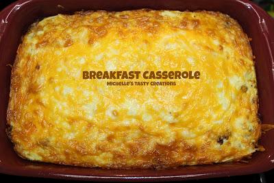 Michelle's Tasty Creations Breakfast Casserole