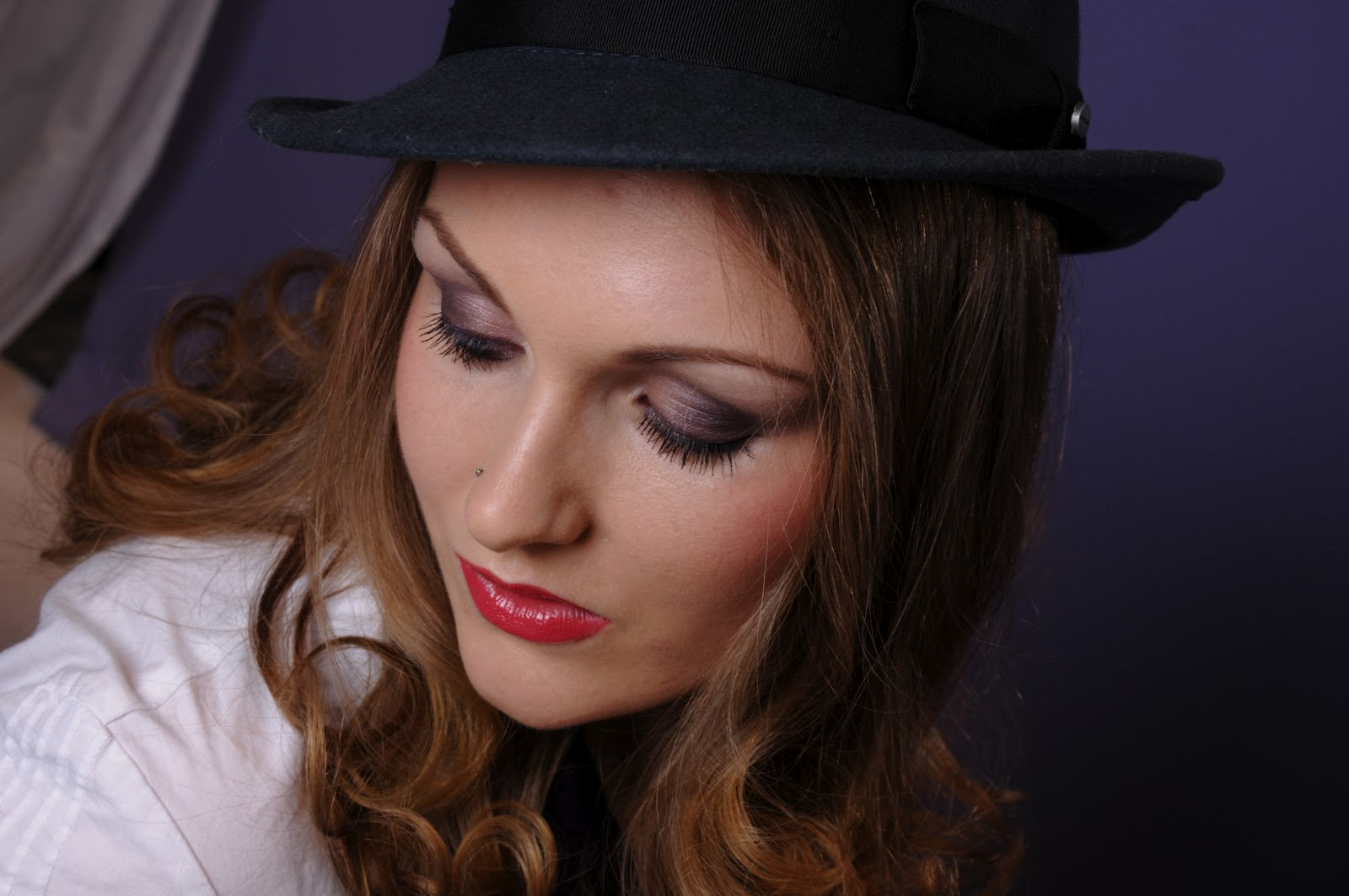 Pandora Julie Douglas Fotoshooting Make Up Of The Day