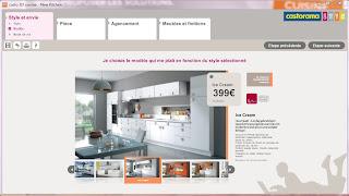 Créer sa cuisine en ligne gratuitement avec Castorama
