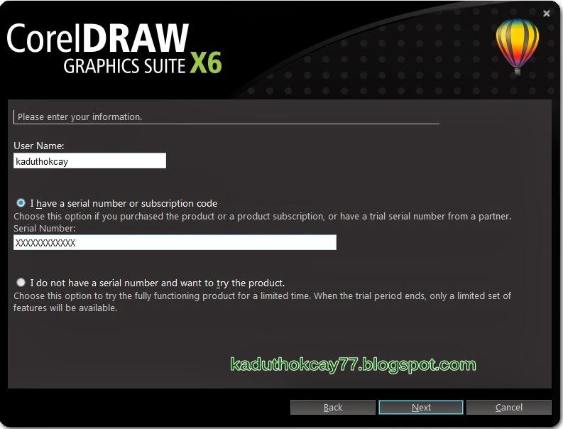 Cara Instal Corel Draw X6