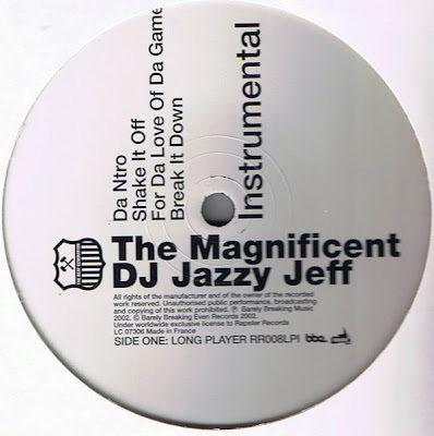 DJ Jazzy Jeff ‎– The Magnificent LP Instrumental (Vinyl) (2002) (192 kbps)