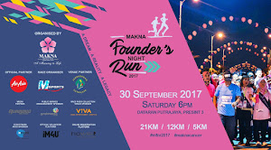 MAKNA Founder's Night Run 2017 - 30 September 2017