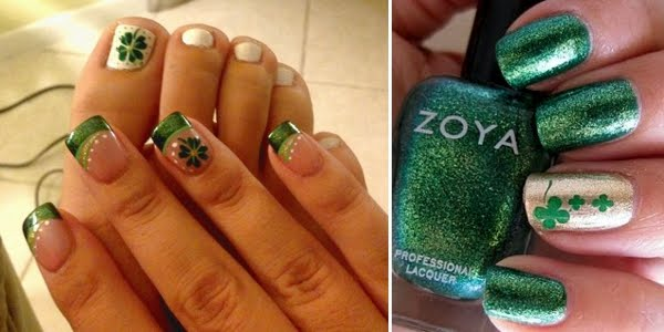 Festive St Patricks Day Nail Art Ideas Omg Love Beauty