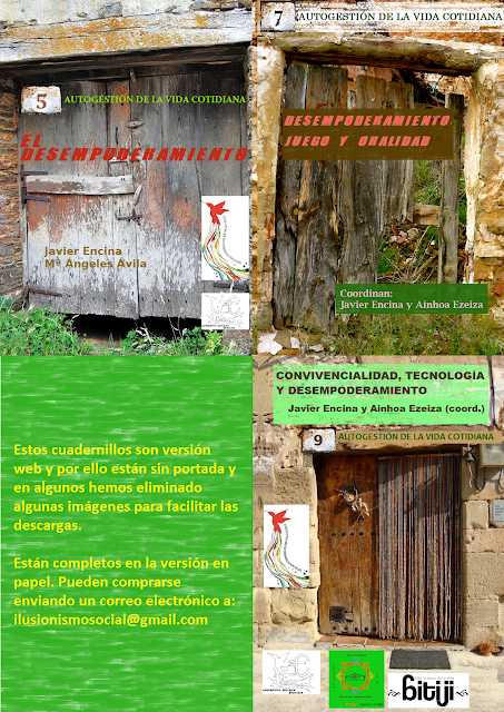 portadas de los cuadernos de trabajo Autogestión de la vida cotidiana