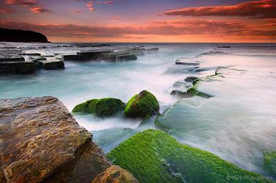 اجمل و  اروع صور شواطئ البحر وقت غروب الشمس beautiful sea beaches