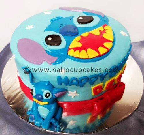 stitch cake