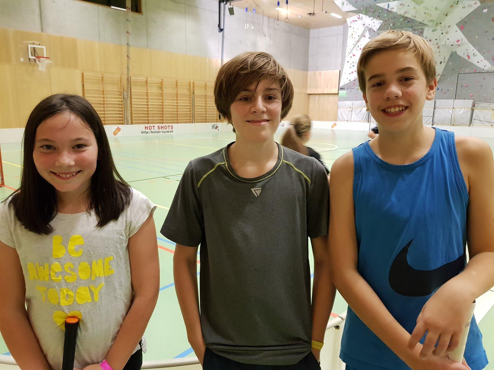 Jana, Matthias, Felix