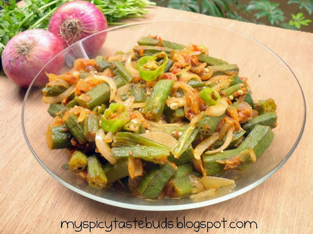 bhindi do payaza