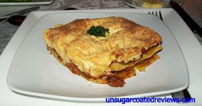 Le Bistro D'Agathe lasagna