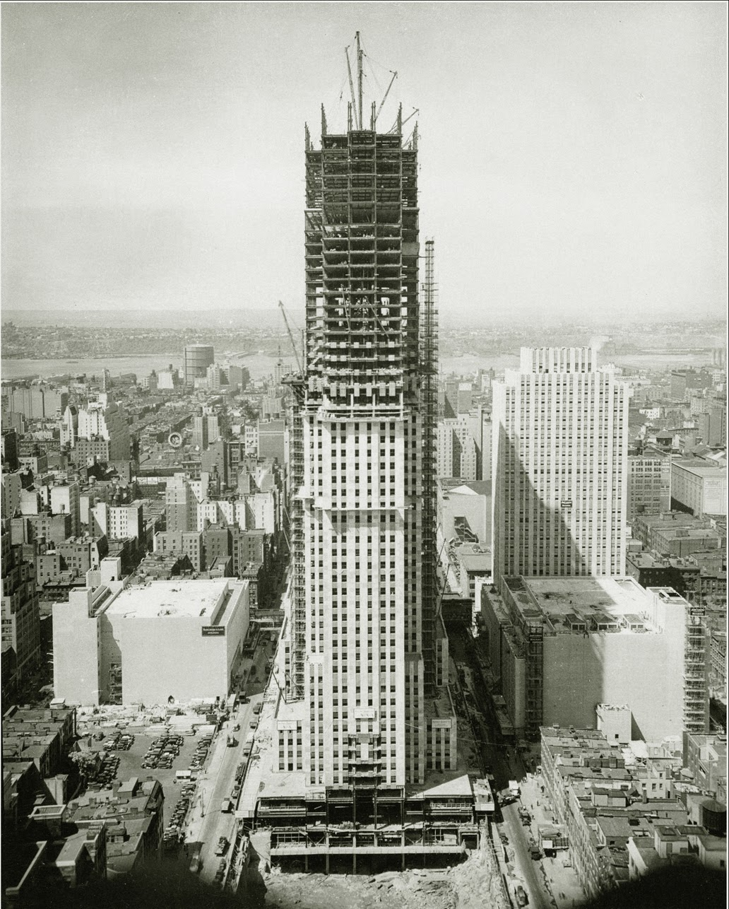 Empire state building 39 s timeline empirestatebuilding for Timeline building