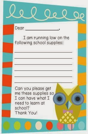 http://www.teacherspayteachers.com/Product/School-Supplies-Note-home-to-parents-1050229
