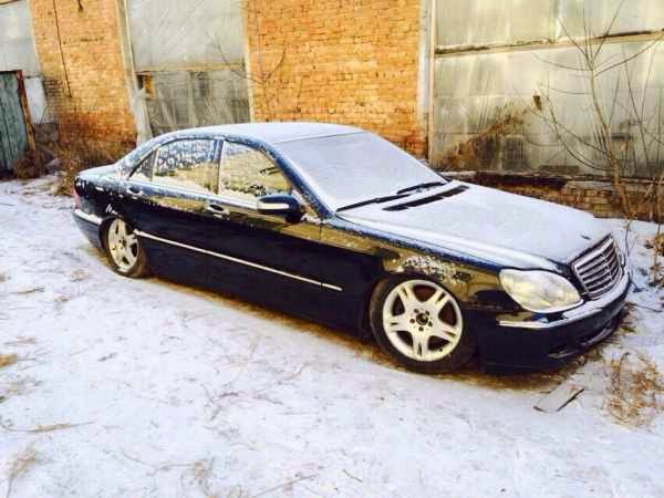В разбор поступил - Mercedes-Benz S500