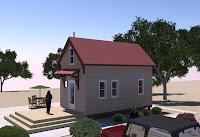 modelo de pequeña casita vista5