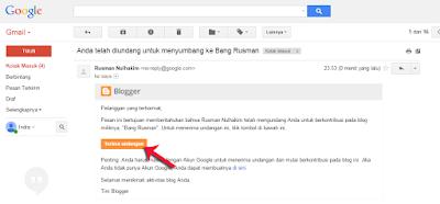 Cara Mengundang Teman / Email  Menjadi Pengarang dan Admin di Blog Kita