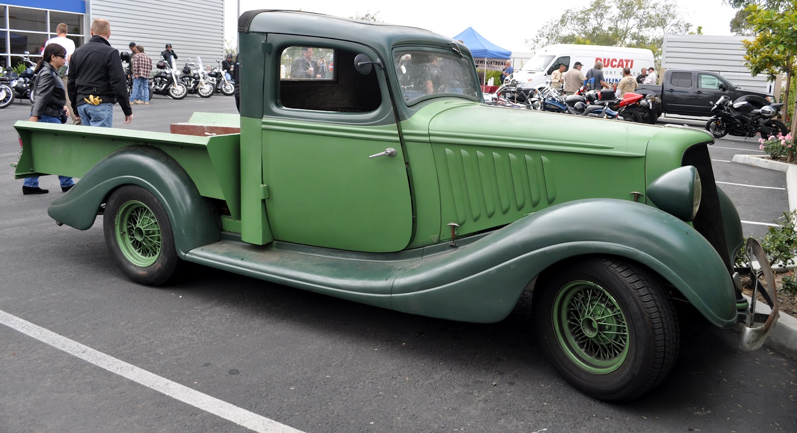 Just A Car Guy: wow, a 34 Husdon Terraplane garage made truck from ...