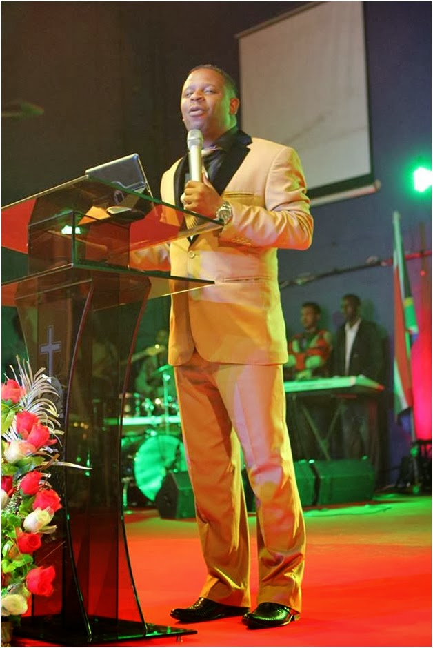 Wow! Pastor PIUS MUIRU's son in a dazzling designer suit ...