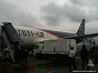 Pesawat Batavia Air Jakarta