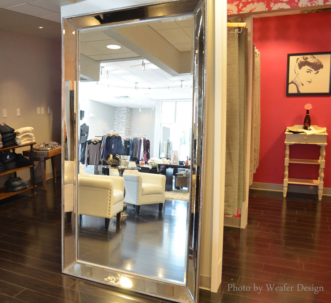 weafer design: pretty is pink boutique now open at new location