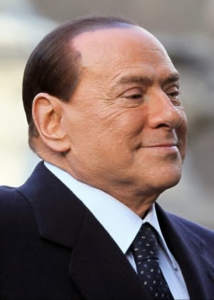 Berlusconi at the European elections of May 2014